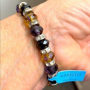 Alexander Kalifano Gorgeous Glass Bracelet